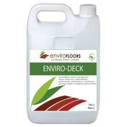 Enviro Floors Enviro-Deck Low VOC oil coating and Finish for Timber Surfaces