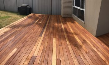 Kenmore Before Enviro-Deck Low VOC oil coating and Finish for Timber Surfaces