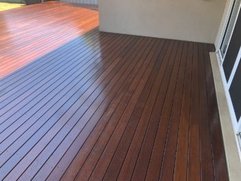 Kenmore After Enviro-Deck Low VOC oil coating and Finish for Timber Surfaces