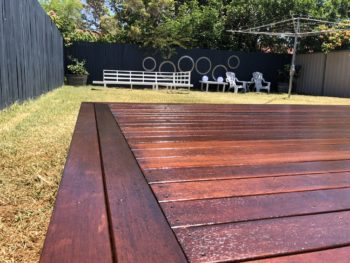 Brisbane Enviro-Deck Low VOC oil coating and Finish for Timber Surfaces