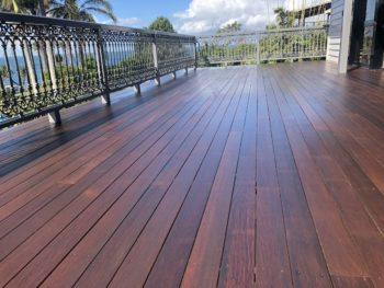 Bribie Island After Enviro-Deck Low VOC oil coating and Finish for Timber Surfaces
